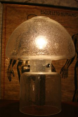 Vintage Large Bubble Glass Table Lamp From Doria For Sale At Pamono