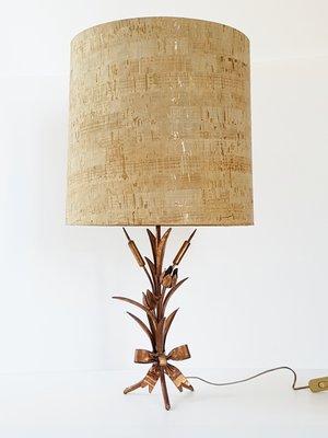Lámpara mesa francesa de acero 70 Century cobrizoaños Mid de 8XPk0Onw