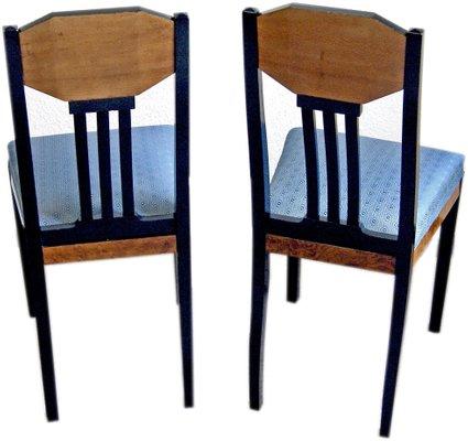 Antiques Joseph Table Et Par Chaises OlbrichAllemagne Maria OPZkuiX