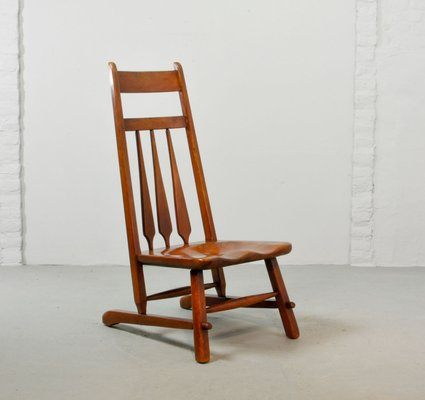 Exceptionnel Vermont Maple Side Chair By Herman De Vries For Cushman, 1930s 1