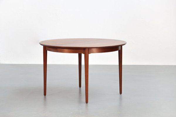 Table de Salle à Manger Scandinave en Teck par Arne Vodder pour P ...
