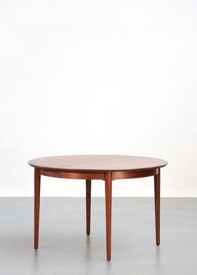 Table De Salle A Manger Scandinave En Teck Par Arne Vodder Pour P Olsen Sibast 1960s