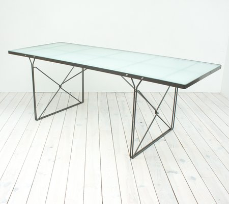 Moment Gl Dining Table By Niels Gammelgaard For Ikea 1987 2