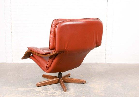 Topform Relax Fauteuil.Mid Century Danish Swivel Relax Lounge Chair
