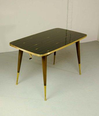 Tavolo da gioco Mid-Century, anni \'50 in vendita su Pamono