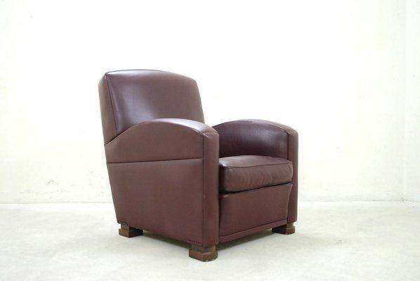 Italian Tabarin Leather Armchair From Poltrona Frau 1989 For Sale
