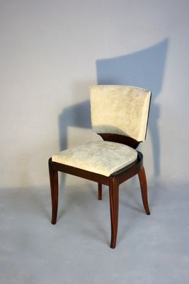 Art Deco Chairs, 1930s, Set Of 6 5