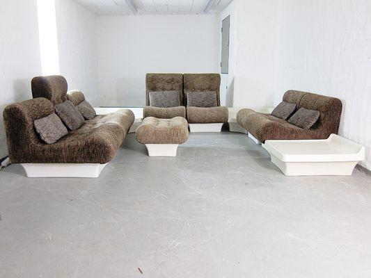 Vintage Model Sofaletten Modular Living Room Set by Otto Zapf for ...
