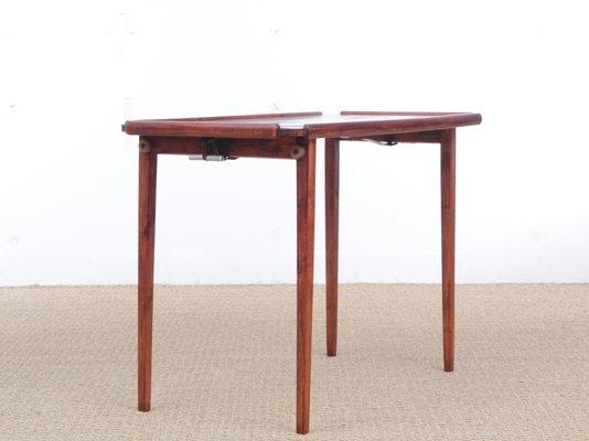 Ordinaire Mahogany Folding Side Table, 1960s 2