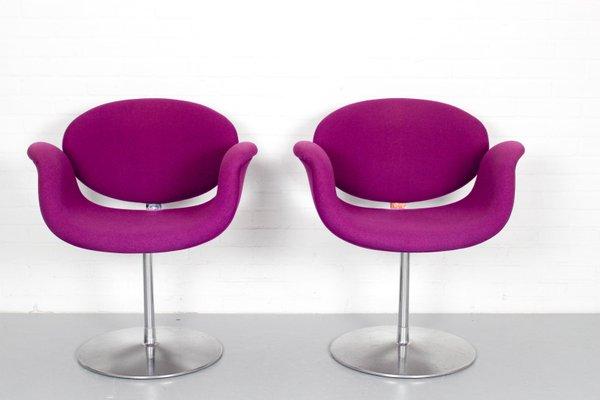 Pierre Stühle für Kleine Paulin von Artifort1970er2er Tulip Set CodBexWr