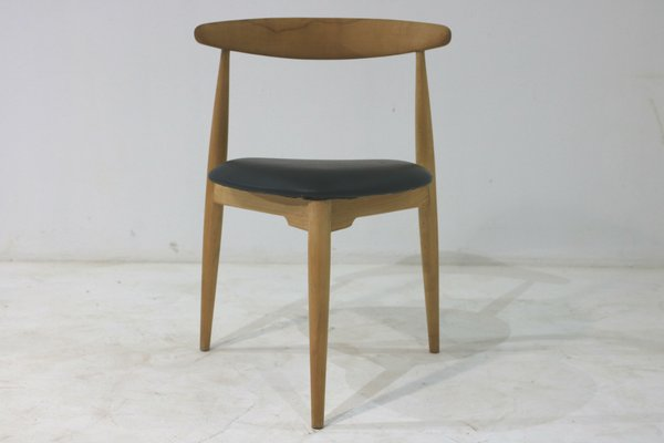 Charmant FH 4103 Heart Dining Chairs By Hans J. Wegner For Fritz Hansen, 1950s,