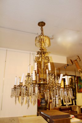 Antique spanish chandelier for sale at pamono antique spanish chandelier 1 aloadofball Images