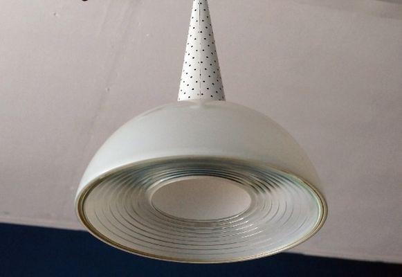 Lampade da soffitto di mathieu mategot per holophane anni 50 set