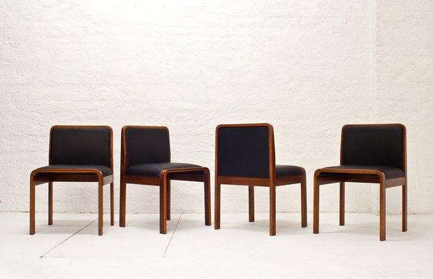 Vintage Italian Chairs From Cinova 1970s Set Of 4