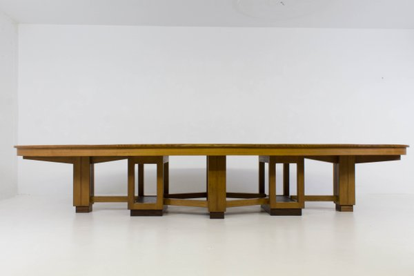 Large Hague School Conference Table S For Sale At Pamono - Large conference table for sale