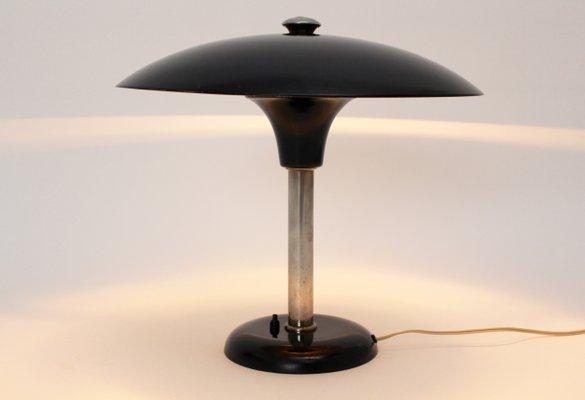 Art Deco Table Lamp By Max Schumacher For Werner Schroeder 1934 2