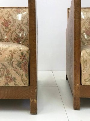 Art Deco Chairs 1960s Set Of 2