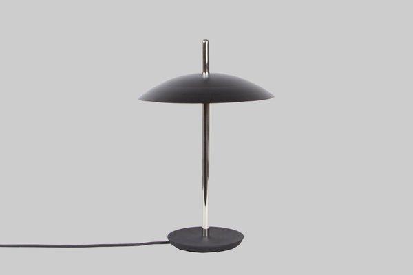 Lampe de bureau signal en nickel par shaun kasperbauer pour souda
