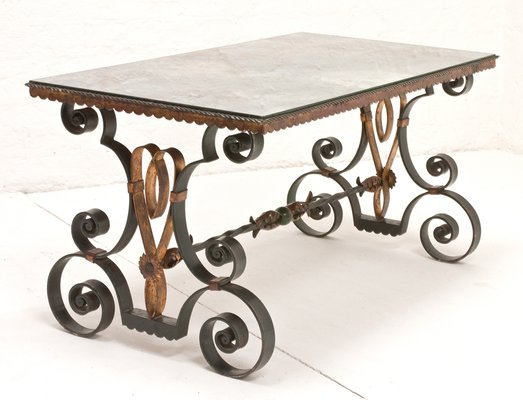 Vintage French Wrought Iron Coffee