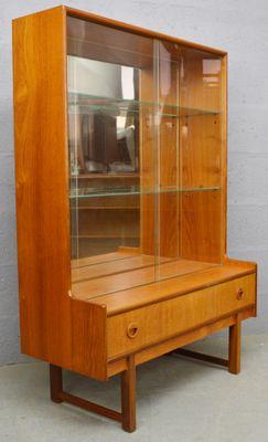 Mid Century Teak And Gl Display Cabinet From Turnidge 2