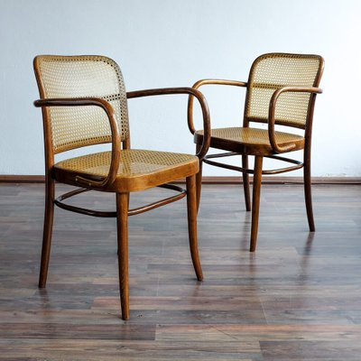 Bentwood Chairs From TON, 1950s, Set Of 2 2