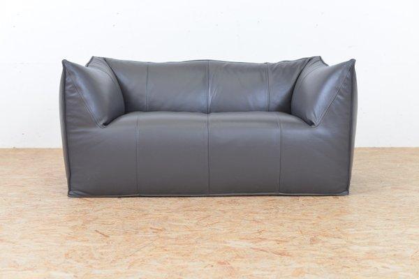 Le Bambole Leather Sofa by Mario Bellini for B&B Italia, 1972