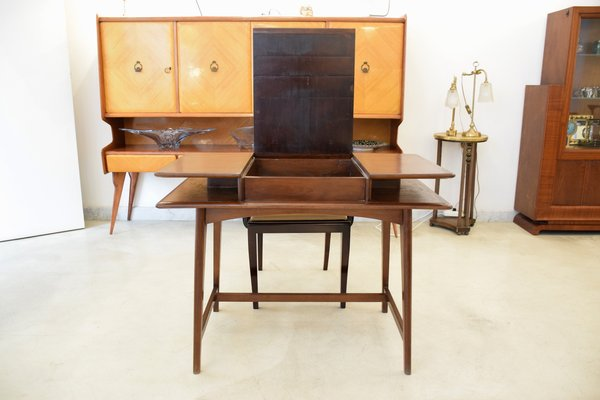flip top desk. Mid-Century French Flip Top Desk, 1950s 2 Desk