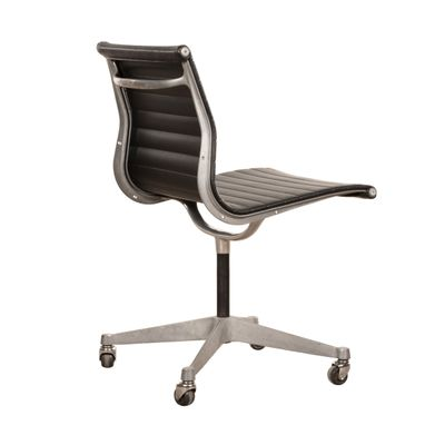 Black Desk Chair By Charles U0026 Ray Eames For Herman Miller, ...