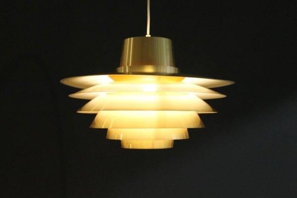 Nordisk Vintage Suspension Svend Pour À Par Middelboe Solar Grande Lampe K1JTclF