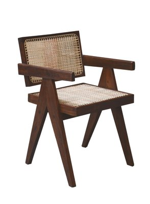 Mid Century Office Chair By Pierre Jeanneret 1