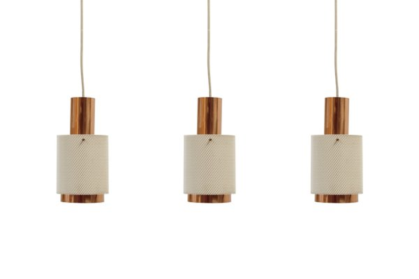 Scandinave1960sSet De 3 Lampes Suspension À v80wNnOm