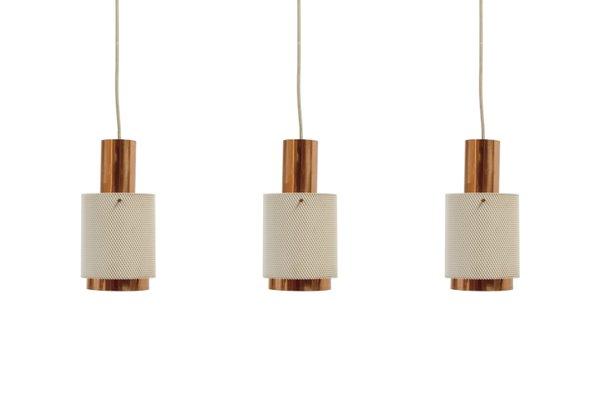 Scandinavian Pendant Lights 1960s Set Of 3
