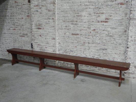 Super Vintage Long Wooden Bench Lamtechconsult Wood Chair Design Ideas Lamtechconsultcom