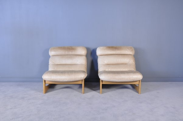 Surprising Mid Century Modern Leather Lounge Chairs Set Of 2 Pdpeps Interior Chair Design Pdpepsorg