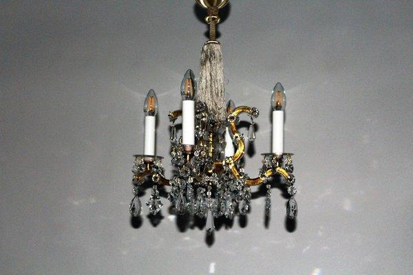 Kronleuchter Antik Vintage ~ Vintage maria theresia kristall kronleuchter von lobmeyr bei