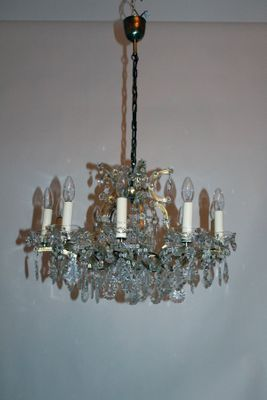 Vintage 12 light maria theresa style crystal chandelier from lobmeyr vintage 12 light maria theresa style crystal chandelier from lobmeyr 2 aloadofball Image collections