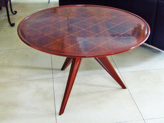 Basse De Style Art En Table Palissandre1940s Déco 0vmN8nw