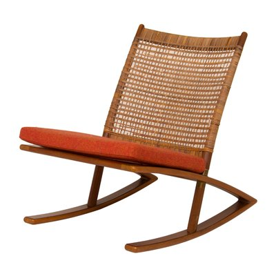 Mid Century Rocking Chair By Fredrik A. Kayser 1