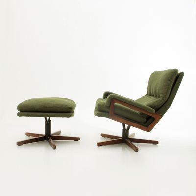 Office Chair Ottoman By André Vandenbeuck For Strässle
