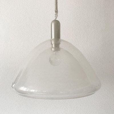 Mid Century Murano Gl Pendant Lamp By Carlo Nason For Mazzega 1960s 1