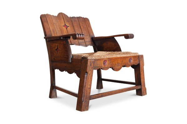 Antique Lounge Chair 2 - Antique Lounge Chair For Sale At Pamono