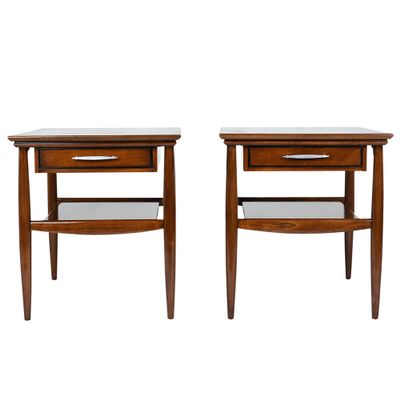 Mid Century Modern Side Tables Set Of 2 1