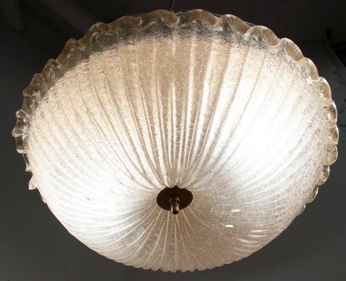 Plafoniere Vetro Di Murano Prezzi : Lampada da soffitto in vetro di murano barovier & toso 1969