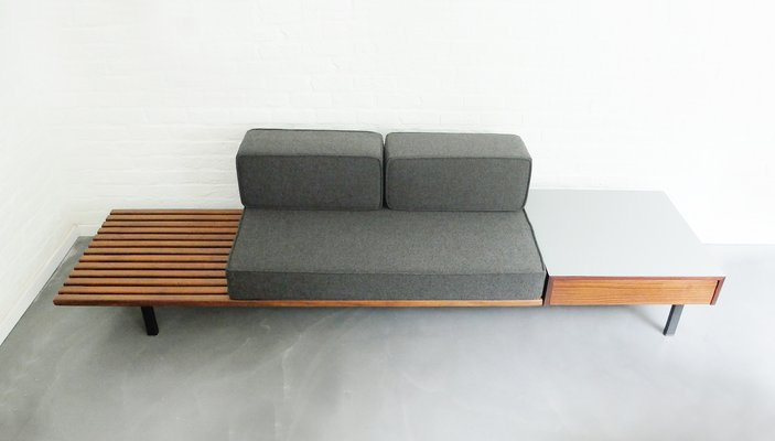 Fabulous French Cansado Bench By Charlotte Perriand For Steph Simon 1958 Evergreenethics Interior Chair Design Evergreenethicsorg