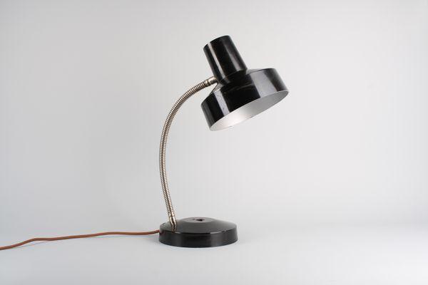 Lampada da tavolo vintage in bachelite di elektrosvit anni 60 in