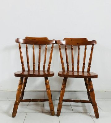 Rustic Kitchen Chairs 1930s Set of 4 1 & Rustic Kitchen Chairs 1930s Set of 4 for sale at Pamono