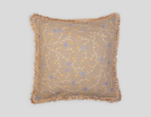 Mint Julep Linen Pillow by Jackie Villevoye for Jupe by Jackie