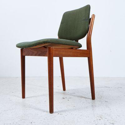 Chaise De Salon En Teck Par Arne Vodder Pour Sibast 1960s 2