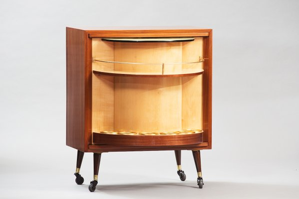 Mid Century Bar Cabinet 2