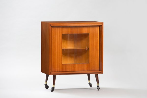 Mid Century Bar Cabinet 1